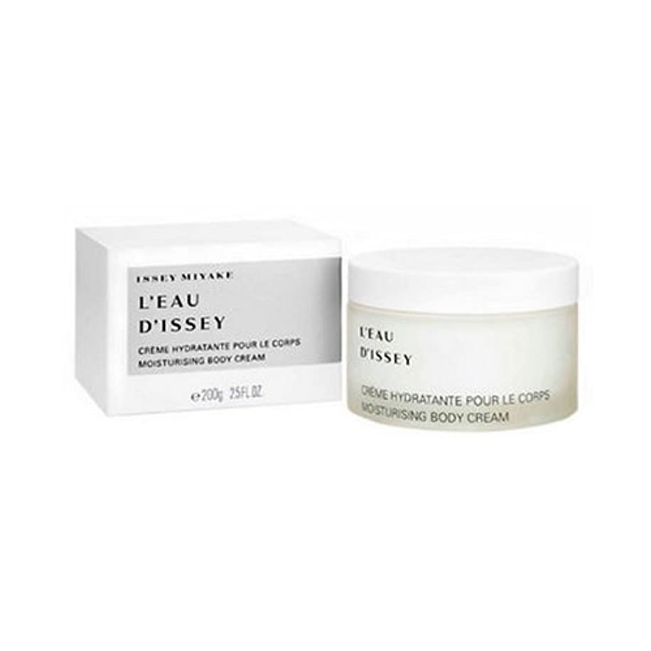 教育補足女王Issey Miyake L Eau D Issey Body Cream 200ml [並行輸入品]