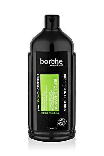 Borthe New Hair Care Botox Shampoo with Repair Formula, Paraben and Sulphate Free, Excessively Damaged Hair, Pack of 1