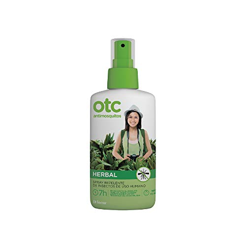 Otc Antimosquitos Herbal. Repelente de insectos eficaz contra los mosquitos, Spray 100 Ml
