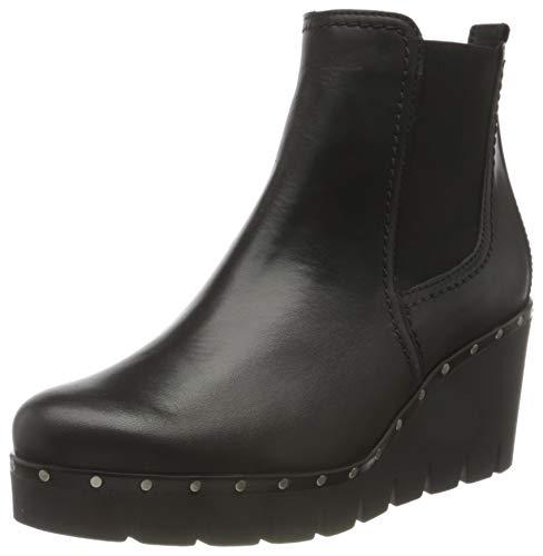Gabor Shoes Damen 34.785.27 Stiefelette, schwarz (Nieten), 42.5 EU