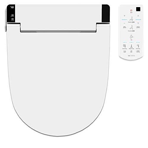VOVO STYLEMENT VB-6100SR Versión estándar eléctrico bidet ducha inodoro japonés bidet fácil instalaciónm asiento con calefacción - Nuevo modelo fabricado en Corea