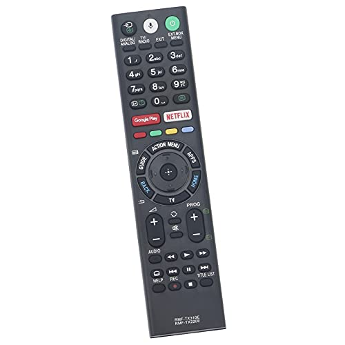 ALLIMITY RMF-TX220E Sub RMF-TX310E Reemplazo de Mandos a Distancia por Sony Bravia OLED TV KD-65AF8 KD-55AF8 KD-65AF8-BAEP KD65AF8 KD55AF8 KD65AF8BAEP KD-55XF8596 KD-55XF8588 KDL-49WF805 KDL-49WF804