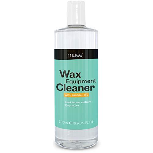 Mylee Detergente Apparecchiatura Professionale 500ml, per rimuovere residui di cera e residui dallo scaldacera e altre superfici di lavoro