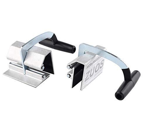 ZUOS Lift Plywood and Sheetrock Panel Carrier 0 to 1 1/8quot Heavy Duty Metal Gripper Single handle clamp 2 pcs