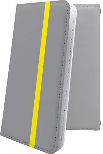 スマートフォンケース・Blade V7Lite / Blade V6・互換 ケース マルチタイプ マルチ対応スマートフォンケース・手帳型 グレー 灰色 おしゃれ ブレイド ブラッド 手帳型スマートフォンケース・かっこいい bladev7 lite BladeV6 ボーダー マルチストライプ [TXW19842Keh]