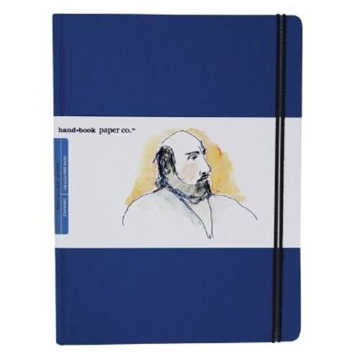 Speedball 721512 Travelogue Artist Drawing Journal, Ultramarine Blue