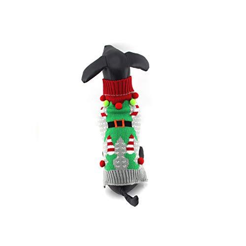 Dr.JIEER - Disfraz de perro de algodón para Navidad, día de...