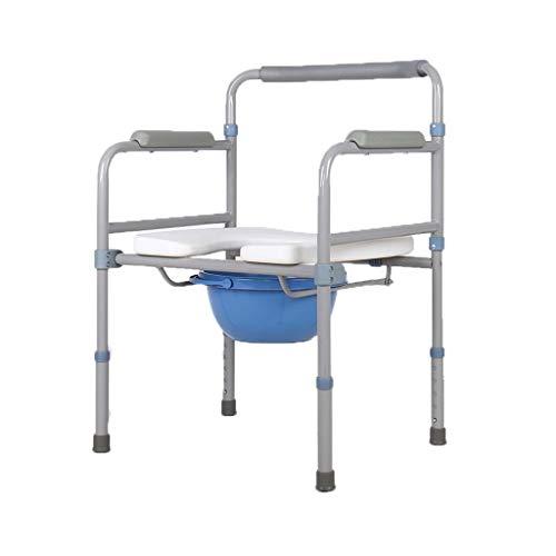 Nuitab Douchestoel Verrijdbare toiletstoel Oudere zwangere vrouwen handicaps patiënten Outdoor Activity Anti-slip