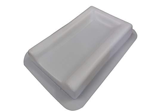 Plain Downspout Splash Guard Concrete Mold 7068