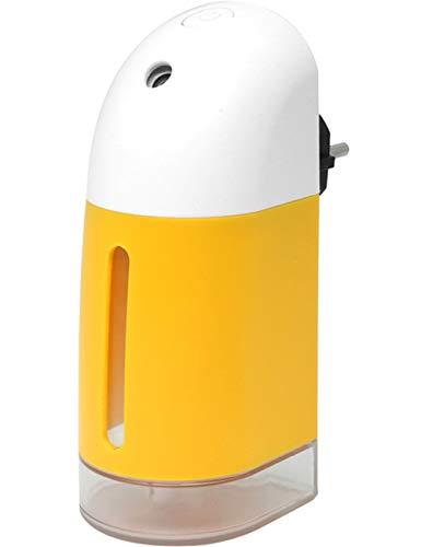 Humidificadores Aceites Esenciales Humidificador Humificador Humificador De Aromas con luz Nocturna y Difusor de Aroma, de Auto-Apagado, para Hogar, Oficina, Dormitorio, Bebé (Naranja)