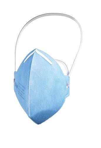 Dräger X-plore® 1720 C FFP2 respirador desechable fabricado en Francia | Juego de 5 mascarillas antipolvo para construcción, bricolaje y pintura
