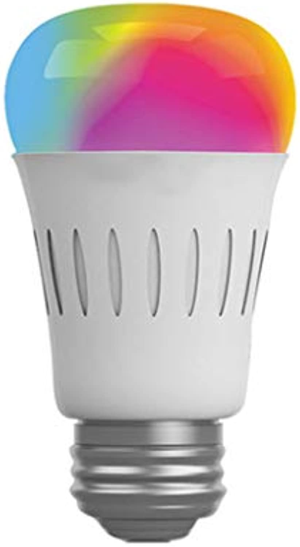 ADAHX LED Smart Light Bulb, mit weier Beleuchtung 6w E27 Glühbirne Light Ring Light Fernbedienung RGB Glühbirne für Wohnraum, Home Bedroom, Beleuchtung,E27