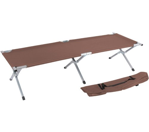 Trademark Innovations Portable Folding Camping Bed and Cot