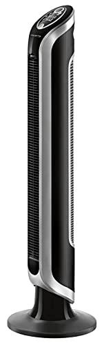 Rowenta Turmventilator VU6670 EOLE INFINITE | Timer | Auto- Modus | Fernbedienung | Auto- Kabelaufwicklung | 3 Geschwindigkeiten | LED- Display