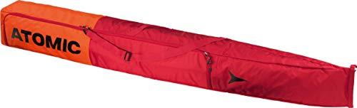 Atomic Ski-Sack Double Ski Bag, 22 x 205 x 22 cm, Längenverstellbar, Polyester, rot/hellrot, AL5038610
