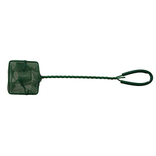 Tuneway Grün 7,5 cm x 6 cm Nylon Mesh für Goldfische Zierfische Aquarium