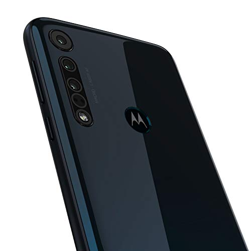 Motorola One Macro - Smartphone 64GB, 4GB RAM, Dual Sim, Space Blue
