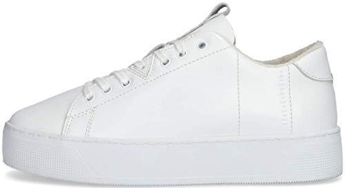 Hub Damen Sneaker Hook-W XL Weiß Glattleder 39