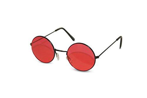 Neon Nation Gafas sol fiesta John Lennon tonos hippie