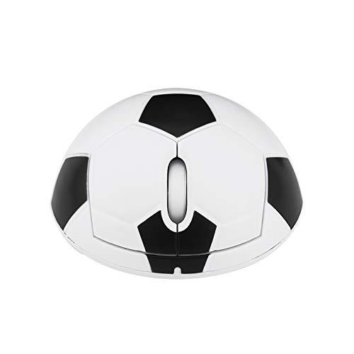 Jie Du 1 ratón inalámbrico de fútbol creativo de 2,4 G, ratón óptico para oficina y personalidad.