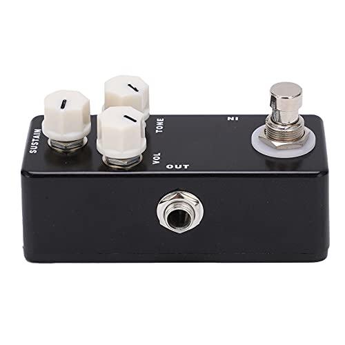 Pedal de efecto de guitarra, mini pedal de efecto de silencio con guitarra para todos los instrumentos para guitarra y bajo