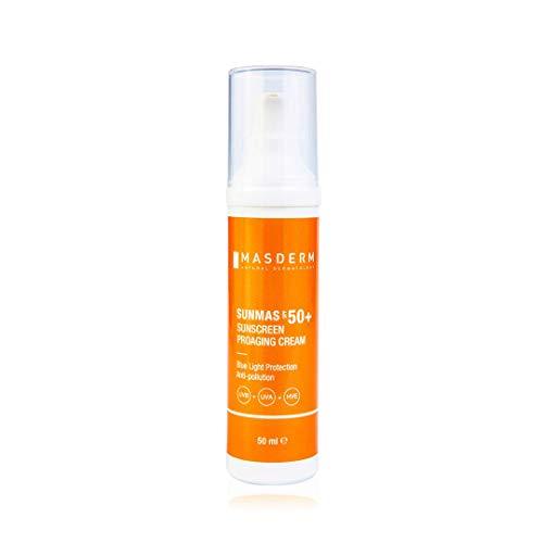 MASDERM | Protector Solar Sunmas | Crema Fotoprotectora Facial...