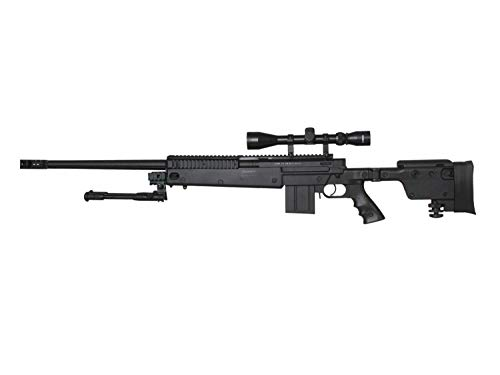 Well MB4407 Upgrade Airsoft Sniper Rifle, mit Metall Internals -Roedale Deluxe Edition- < 0,5 J.
