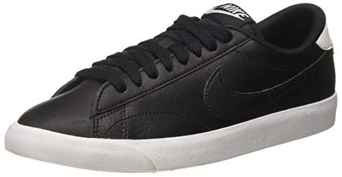 Nike Tennis Classic AC, Zapatillas de Tenis Hombre, Negro (Black/Black-White), 45.5 EU