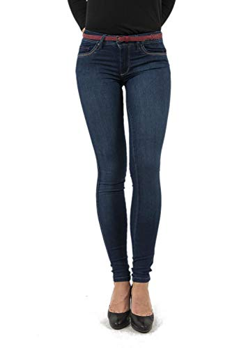 Salsa Jeans Wonder Push Up, Skinny, mit dazugehörigem Gürtel