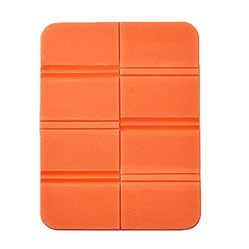 ADAGG - Cuscino da campeggio pieghevole in schiuma XPE, impermeabile, per picnic (arancione)