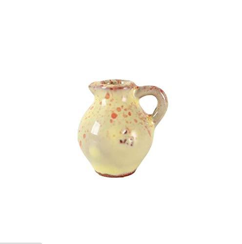Shovv Decoratie keramische hars creatieve Chinese stijl keramiek klein gotten mini bloempot koelkast gemagnetiseerd bericht geschreven glazuur kleur bloemensieraad decoratie meer dan 3 cm