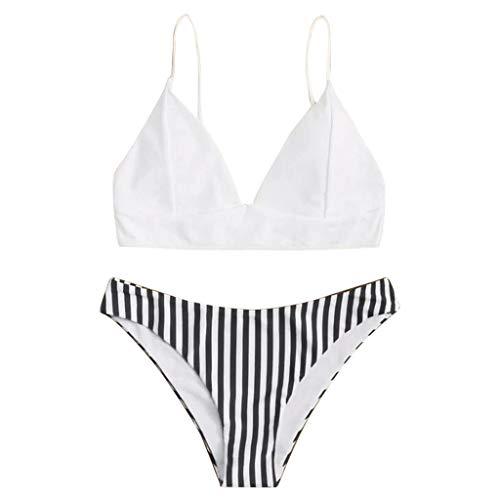 Brizz Push-up dames, tweedelige bedrukking, gevoerde bh, strand, bikiniset, badkleding, dames, triang-zwembroek, bikini-bovendeel, korset voor zee, strand, zwembad, hete bron.