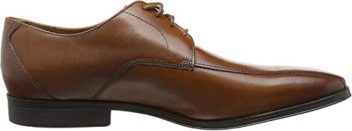 Clarks Herren Gilman Mode Derbys, Braun (Dark Tan Leather), 45 EU