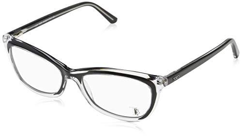 TOD'S Tod'S Brillengestelle TO5138 Rechteckig Brillengestelle 52, Schwarz