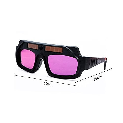 Auto oscurecimiento de la soldadura Gafas de soldadura Mascarilla de soldadura Energía solar Energía solar Descendimiento ARGON ARC CASCO MÁSCULAR GOGGLES (Color : Type B)