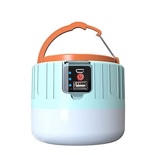 WFIT Led Recargable Linterna Camping Agua Carpa Resistente a La Luz, Cable USB, Cargador De Coche Incluido, Acampar Al Aire Libre Senderismo Emergencia