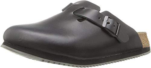 Birkenstock Boston - Zapatos con Hebilla de Cuero Nobuck Unisex