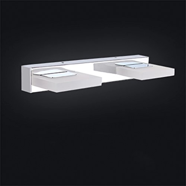 QWM-Badspiegellampe LED-Spiegel-vorderes Licht   Anti-fog wasserdichtes Badezimmer-Verfassungs-Spiegel-Schlafzimmer-Wand-Lampen-Beleuchtung-Befestigungen QWM-Bad Wandleuchten ( Farbe   Weies Licht-31cm )