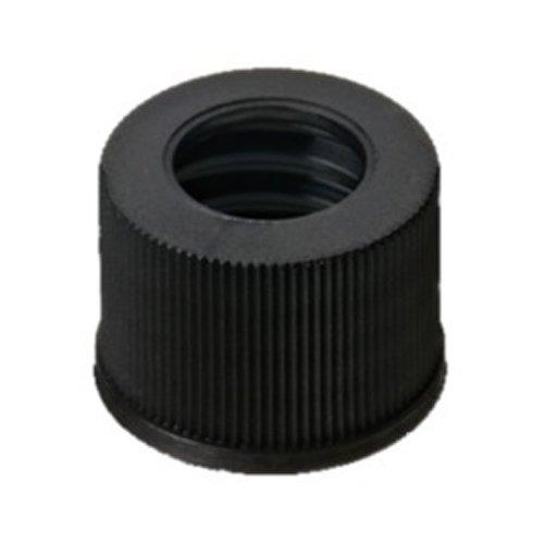 neoLab 7-0733 Schraubkappe, PP, ND10, Loch 7 mm, Schwarz (100-er Pack)