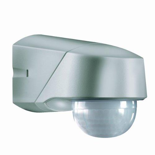 ESY-LUX EM10015618 Détecteur de mouvement lumineux IP54 Acier inoxydable