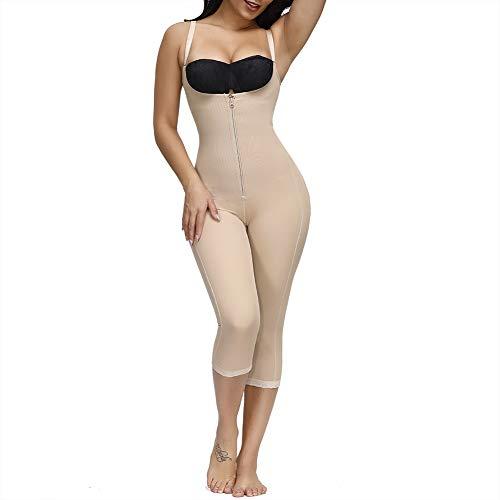 Lover-Beauty Faja Reductora de Neopreno - Quemador de Grasa de Cintura - Adelgaza - El Cinturón Sudador Envuelve el - Cuerpo en Sauna Negro Faja Pantalones Largas Mujer