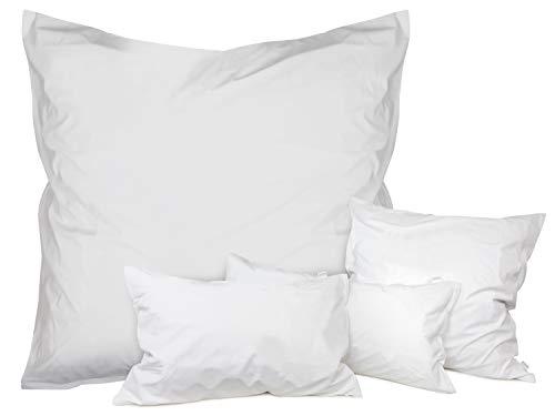 Dormisette Hygienebezüge wasserdicht - milbendicht - permanenter und natürlicher Schutz vor Verunreinigungen - Made in Germany - erhältlich in 3 verschiedenen Größen, 80 x 80 cm