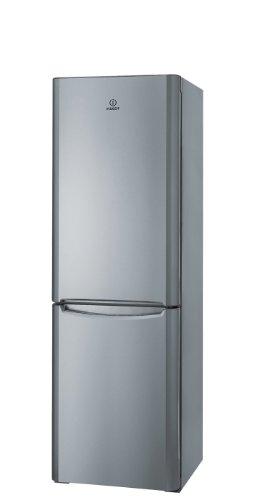 Indesit BIAAA 13P X Kühl-Gefrier-Kombination/A++ / 187 cm Höhe / 224 kWh/Jahr / 213 Liter Kühlteil / 90 Liter Gefrierteil/nur 0,614 kWh/24 Stunden/Edelstahl-Front