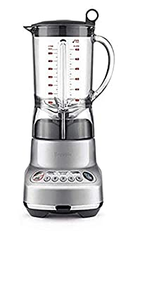 Breville BBL620SIL The Fresh and Furious Countertop Blender, Silver