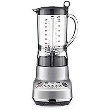 Breville BBL620SIL the Fresh and Furious Counterop Blender, Silver