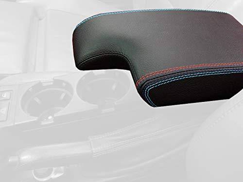 MeterMall Tapa del reposabrazos Central del autom/óvil Tapa de la Consola Ajuste Directo en Color Beige para 1999-2004 BMW 3 Series E46 Negro