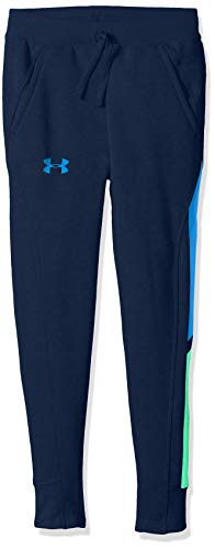 Under Armour Boys Rival Jogger, Academy (408)/Blue Circuit, Youth Small