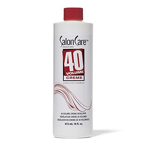 Salon Care 40 Volume Creme Developer, 16 oz