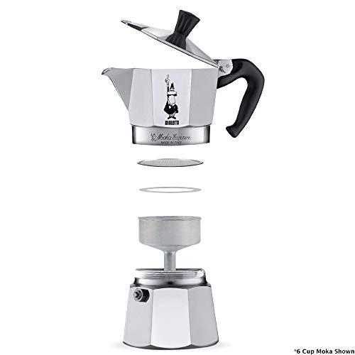 stovetop espresso maker taken apart