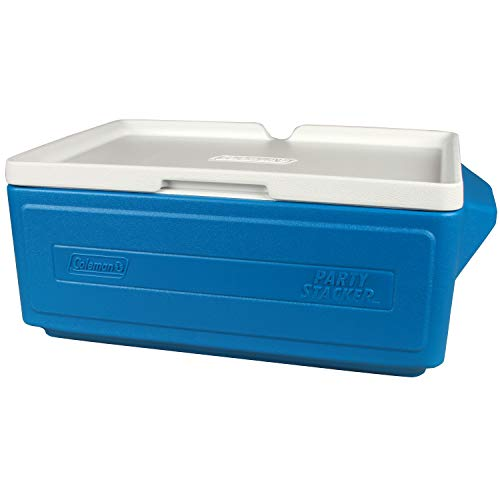 Coleman 24-Can Party Stacker Portable Cooler, Blue